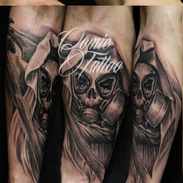 tatuaje-dead-gas-comic-tattoo-freedi
