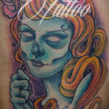 tatuaje-mujer-fantasma-comic-tattoo-freedi